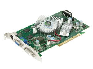 Grafikkarte NVIDIA GeForce 7600GT, AGP