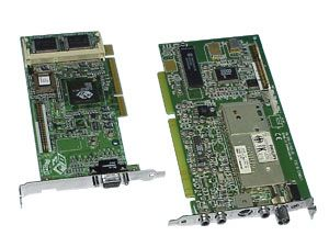 ATI Grafikkarte 4MB AGP mit Tunerkarte