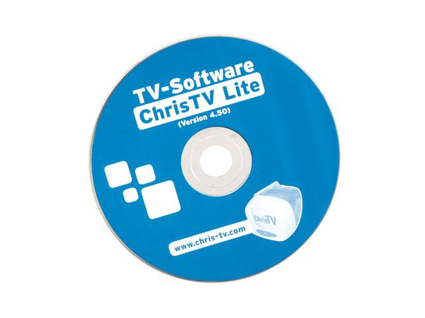 Software ChrisTV Lite für TV-/ISDN- Kombokarte Medion 7134