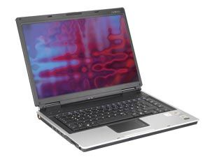 "Laptop Advent 7101, Centrino 1,6GHz, 512MB, 40GB, Kombo, 14,1"", WLAN"