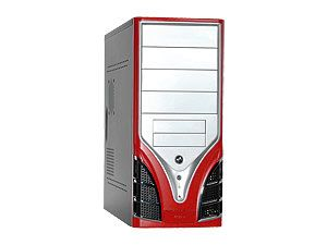 ATX-Midi-Tower TC 7880 Silver/Red