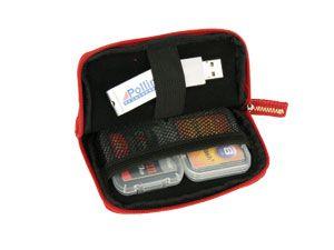 Speicherkarten-Tasche HAMA Orlando, rot - Produktbild 1