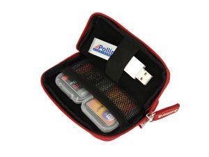 Speicherkarten-Tasche HAMA Orlando, rot - Produktbild 2
