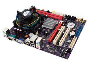 Computer-Aufrüstkit ECS 945GCT-M2 / Intel E5400