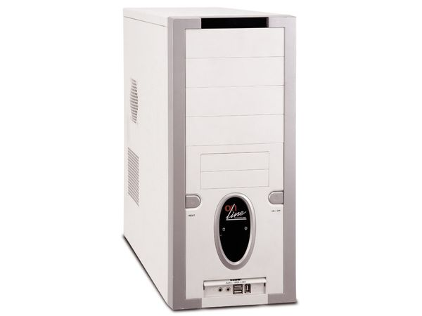 Barebone-PC mit AMD Athlon 64 3500+ Prozessor