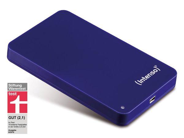 """USB 2.0-HDD INTENSO MemoryStation, 6,4 cm (2,5""""), 500 GB, blau"""