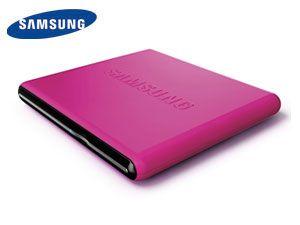 Externer DVD-Brenner SAMSUNG SE-S084D/TSPS, pink