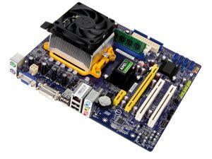 Mainboard-Bundle FOXCONN A74ML-K3.0, AMD Athlon II X2 220, 2 GB DDR3 - Produktbild 1