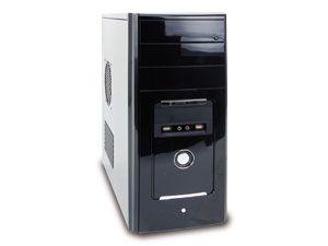 Barebone-PC, Intel Core i3-2100, H61, 2 GB DDR3, USB 3.0, SATA 6 Gb/s