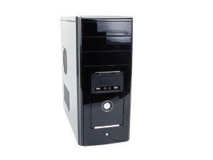 Barebone-PC, Intel Core i5-2500, H61, 2 GB DDR3, USB 3.0, SATA 6 Gb/s
