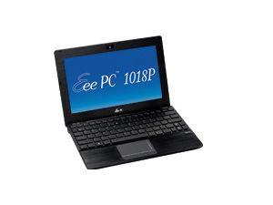 Netbook ASUS Eee PC 1018P-BLK165S, schwarz - Produktbild 1