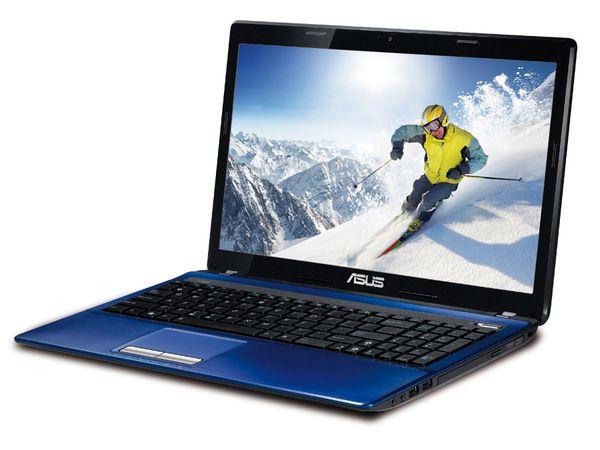 "Notebook ASUS K53SC-SX621V, 39,6 cm (15,6"" HD LED), blau - Produktbild 1"