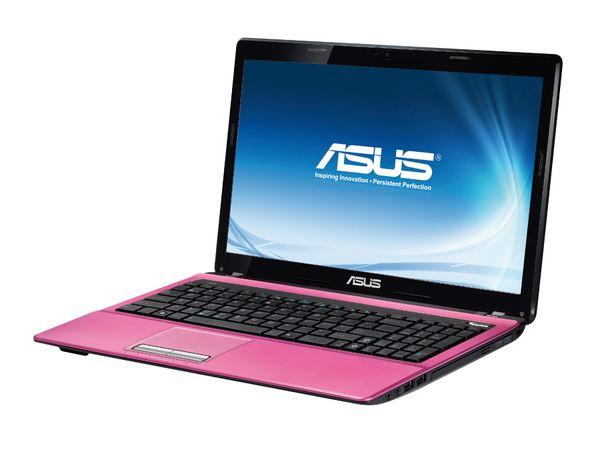 """Notebook ASUS K53SC-SX621V, 39,6 cm (15,6"""" HD LED), pink"""