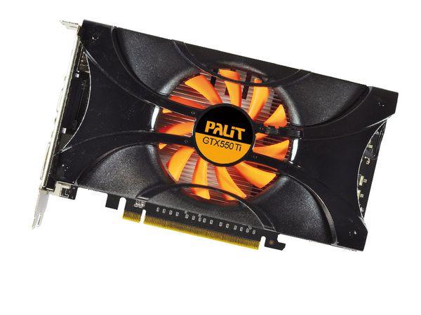 Grafikkarte PALIT nVidia GeForce GTX550Ti, 1 GB GDDR5