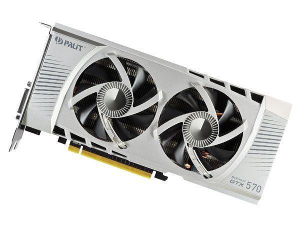 Grafikkarte PALIT nVidia GeForce GTX570, 1280 MB GDDR5 - Produktbild 1