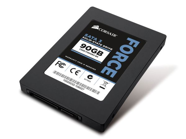 Solid State Drive CORSAIR FORCE 3, 90 GB - Produktbild 1