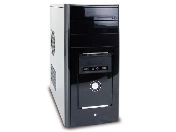 PC-System, Intel Core i5-2400s, 4 GB, SSD & HDD, Win 7