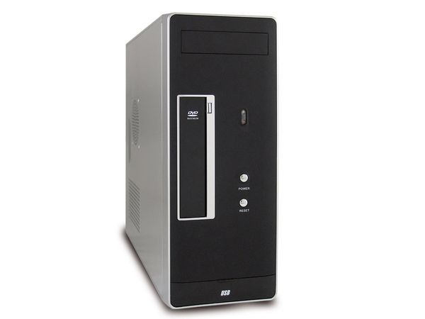 PC-System, Intel Core i3-2100, 4 GB, 500GB, USB 3.0