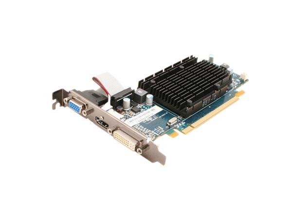 Grafikkarte ATI Radeon HD5450, 512 MB GDDR3, passiv - Produktbild 1
