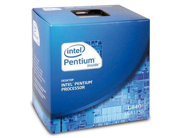 CPU Intel Pentium G840 Dual-Core, Box - Produktbild 1