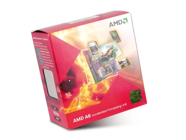 CPU AMD A6-3500 Triple-Core, Box - Produktbild 1