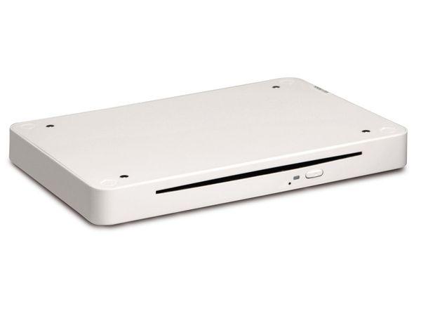 Externer DVD-Brenner FOXCONN NetDVD, USB 2.0, weiß