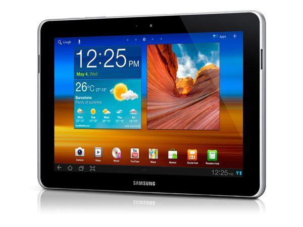 Tablet-PC SAMSUNG GALAXY TAB 10.1N Wi-Fi 3G (GT-P7501UWDDBT) - Produktbild 1