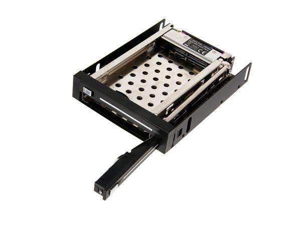 """SATA-Wechselrahmen, 2x 6,35 cm (2,5"""") - Produktbild 1"""