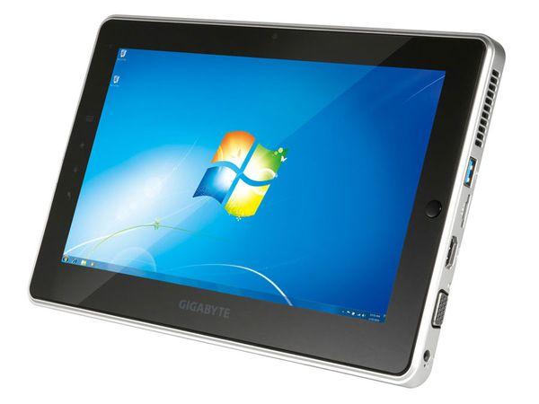 Tablet-PC GIGABYTE S1081, 320 GB, USB 3.0, Win 7 - Produktbild 1