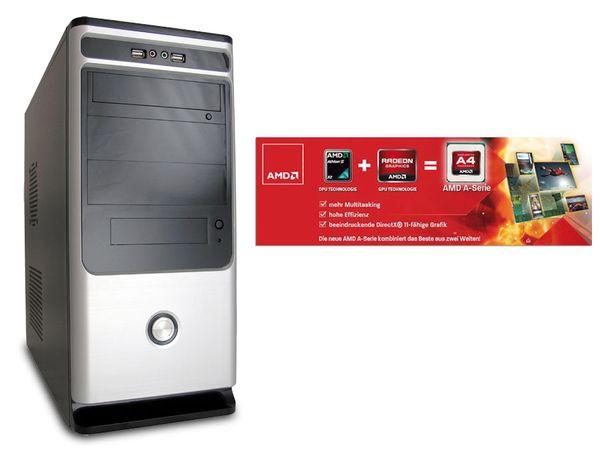 Komplett-PC JOY-IT AMD Dual-Core mit 2 Spielen gratis! - Produktbild 1