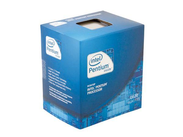 CPU Intel Pentium G620 Dual-Core, Box