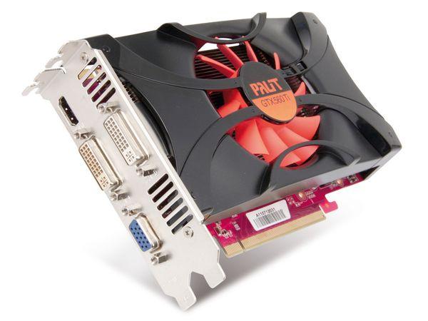 Grafikkarte PALIT nVidia GeForce GTX560 TI, 1 GB GDDR5 - Produktbild 1