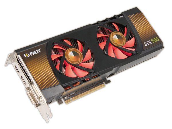 Grafikkarte PALIT nVidia GeForce GTX580, 1,5 GB GDDR5 - Produktbild 1