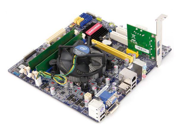 Mainboard-Bundle FOXCONN H67M-V, i7-2600K, 4 GB