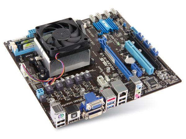 Mainboard-Bundle GIGABYTE GA-F2A88XM, A8-5600K, 8 GB - Produktbild 1