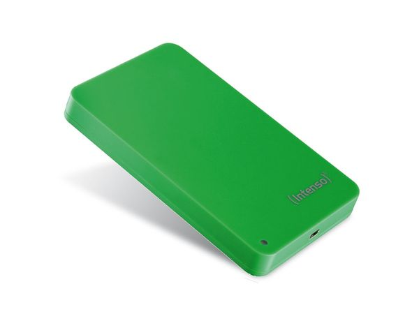 "INTENSO Memory Station, 6,35 cm (2,5""), 320 GB, grün - Produktbild 1"