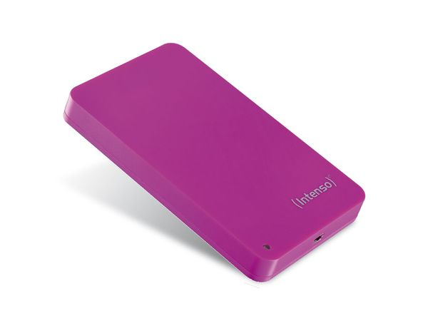 "INTENSO Memory Station, 6,35 cm (2,5""), 320 GB, rosa - Produktbild 1"