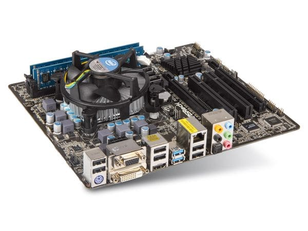 Mainboard-Bundle ASROCK H77M, Intel i5-3470, 8 GB ELIXIR