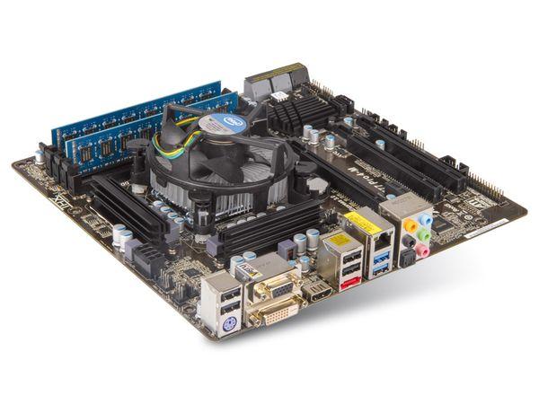 Mainboard-Bundle ASROCK Z77 Pro4-M, Intel i7-3770, 8 GB ELIXIR