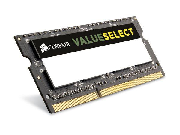 Speichermodul SO-DIMM, DDR3, CORSAIR CMSO8GX3M1A1600C11 Value Select