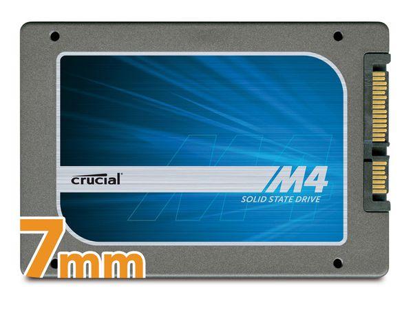 SSD CRUCIAL M4 CT512M4SSD1CCA mit Data-Transfer-Kit, SATA III, 512 GB