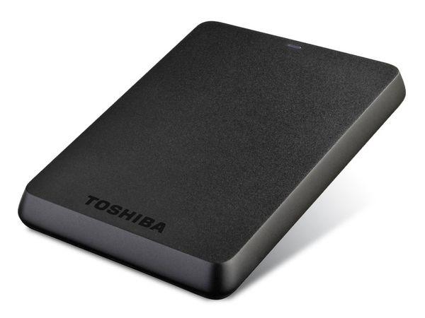 USB 3.0-HDD TOSHIBA STOR.E BASICS, 750 GB, schwarz - Produktbild 1