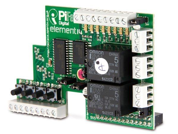 Raspberry Pi Zusatzplatine PIFACE - Produktbild 1