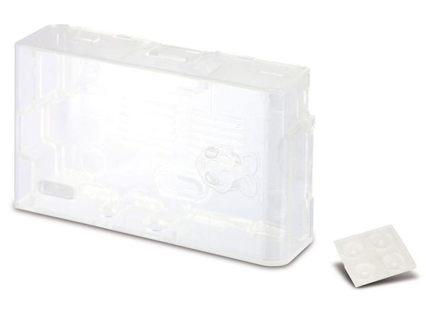 Raspberry Pi Gehäuse MULTICOMP MC-RP001-CLR, transparent