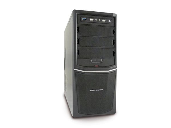 PC-System, AMD APU A6-5400K, 4 GB, 1 TB, Brenner