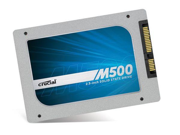 SSD CRUCIAL M500 CT120M500SSD1, SATA III, 120 GB - Produktbild 1