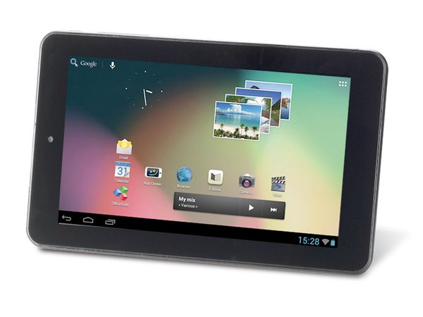 Tablet-PC INTENSO TAB724, Android 4.1, Dual-Core - Produktbild 1