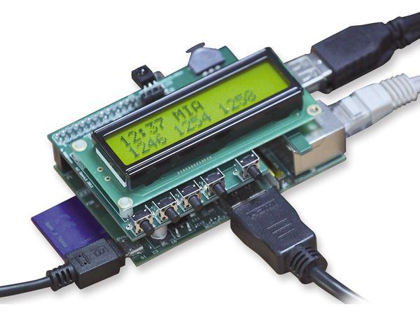 Raspberry Pi Zusatzplatine PIFACE CONTROL & DISPLAY