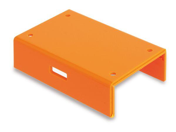 Raspberry Pi Gehäuse, Unterteil, orange - Produktbild 1