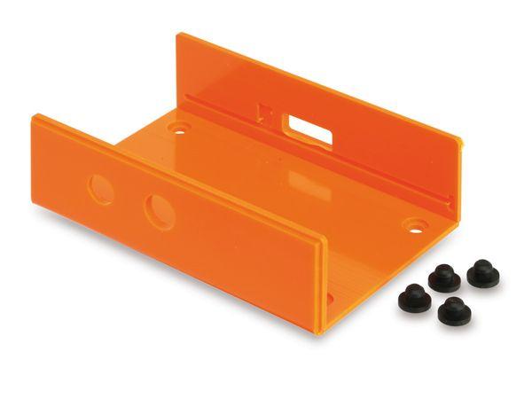 Raspberry Pi Gehäuse, Unterteil, orange - Produktbild 2